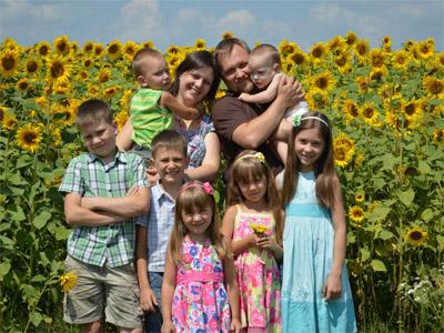многодетная семья