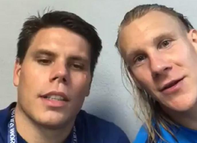 Хорватский футболист назвал шуткой слова «Слава Украине» после матча сРоссией