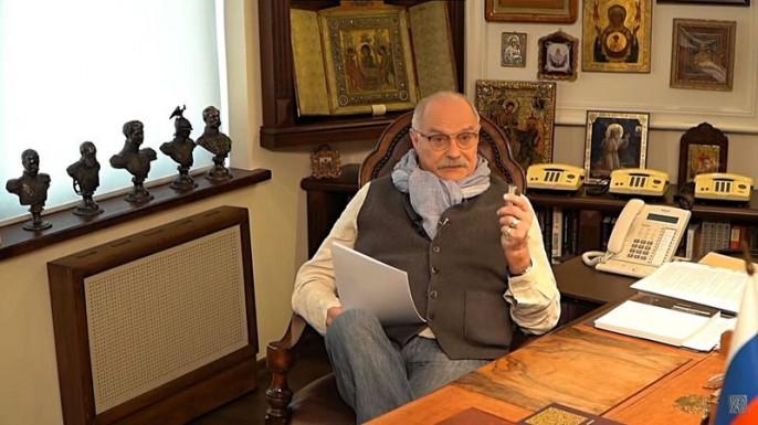 Никита Сергеевич Михалков встаёт на путь большой войны