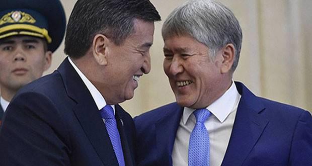 Не надо иллюзий, воры – все. Иных вариантов там не предусмотрено. Однако Атамбаев был фигурой гораздо более предпочтительной для нас и, что главное – для Китая. Собственно, если верить слухам, Китайская Народная Республика стоит за теперешними волнениями.