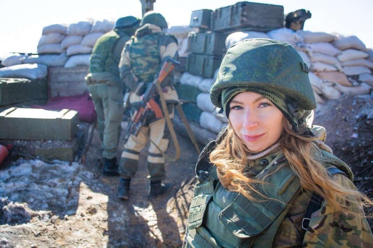 Редакция News Front: ` Военкор Екатерина Катина с самого начала принимала активное участие в становлении и развитии Донецкой Народной Республики.