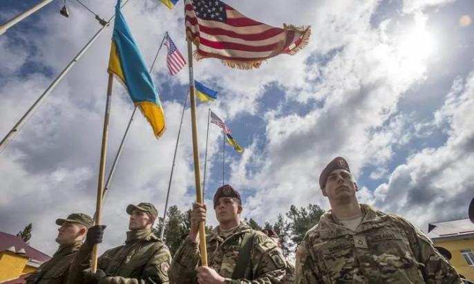 Жители Америки потренировали украинцев для войны вДонбассе