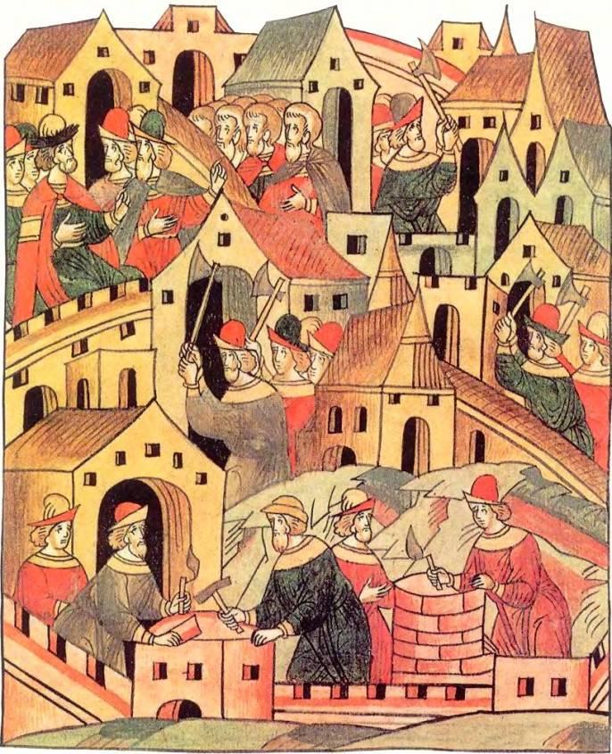 Русь в средневековье картинки