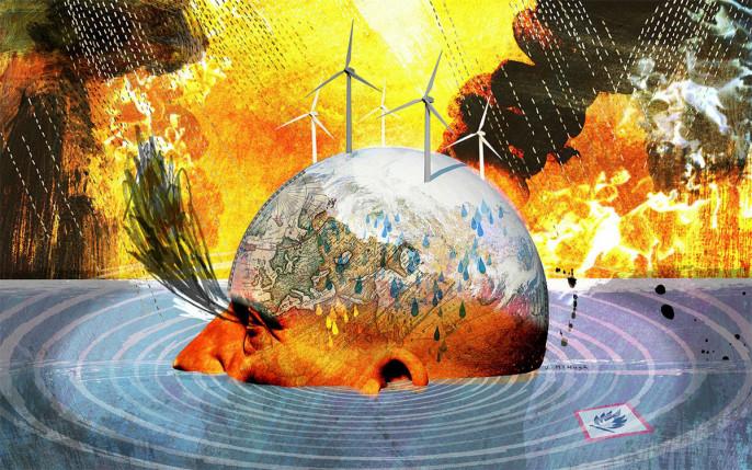 Многое говорит о том, что климат сделают темой международной политики на долгие годы.