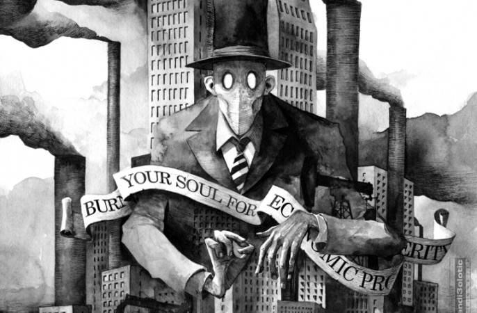 За кулисами коронавируса. Капитализм – переход в терминальную фазу. Елена Ларина