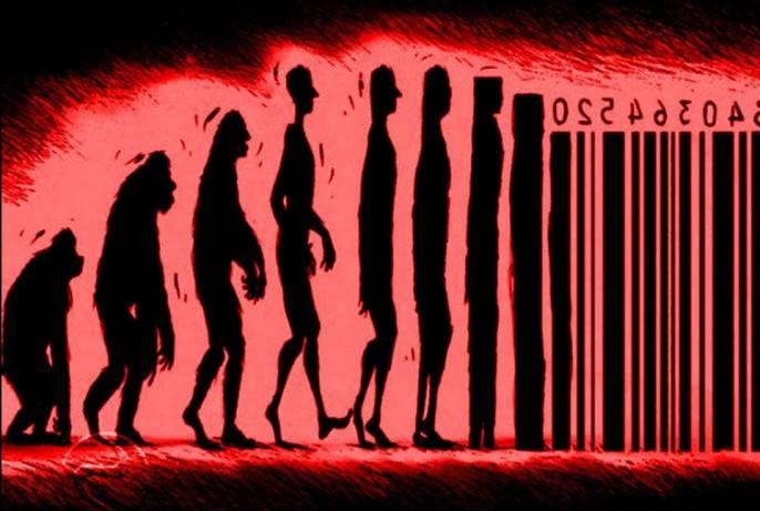 Английский писатель Джордж Оруэлл в своем известном романе-антиутопии «1984» очень наглядно показал дальнейшую «эволюцию» человека и общества.