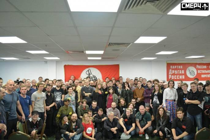Эдуард Лимонов: Мы - самая молодёжная партия в мире