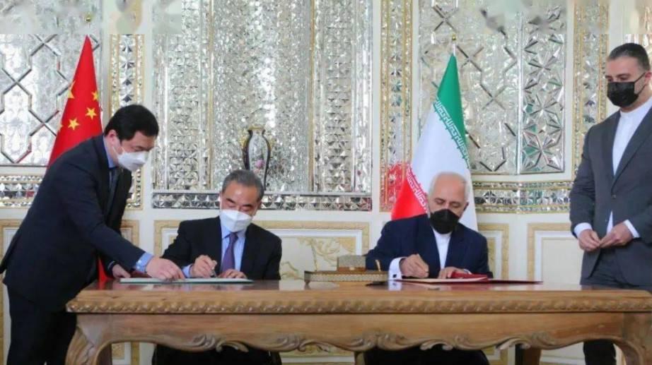 С января по декабрь 2020 года объём торговли между Китаем и Ираном составил 14,91 млрд.