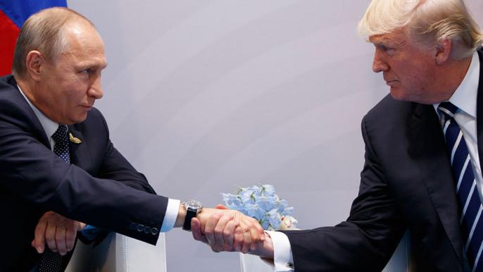 Песков прокомментировал поведение Трампа навстрече сПутиным
