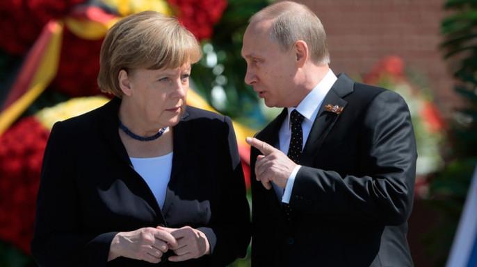 Меркель рассчитывает наснятие санкций с Российской Федерации