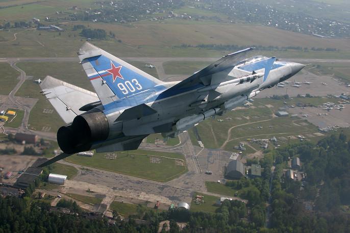 Истребитель МиГ-31 потерпел крушение вБурятии