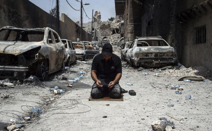 ДниИГ вИраке иСирии сочтены— Трамп