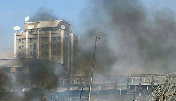 Террористы обстреляли изминометов российское посольство вДамаске