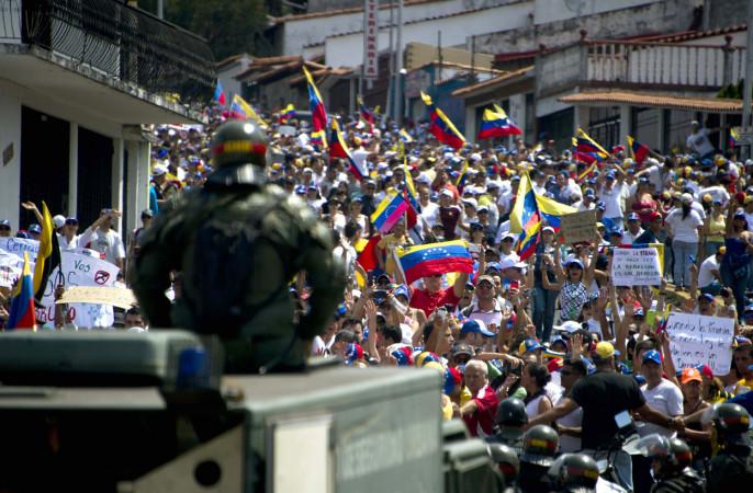 При разгоне демонстраций протеста вВенесуэле вновь погибли люди