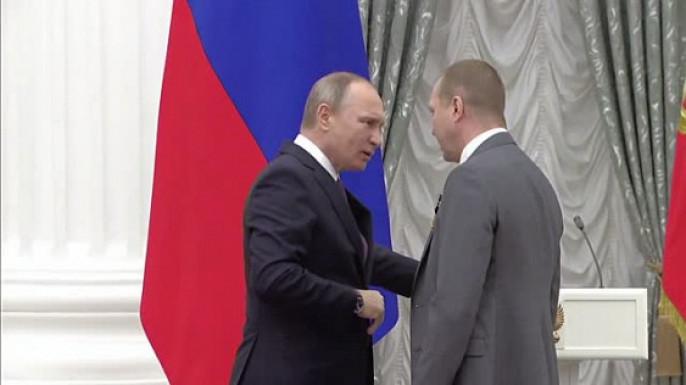 Евгений Миронов получил орден «Зазаслуги перед Отечеством» IVстепени