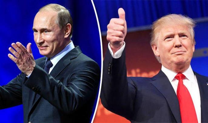Песков поведал описьме В. Путина Трампу