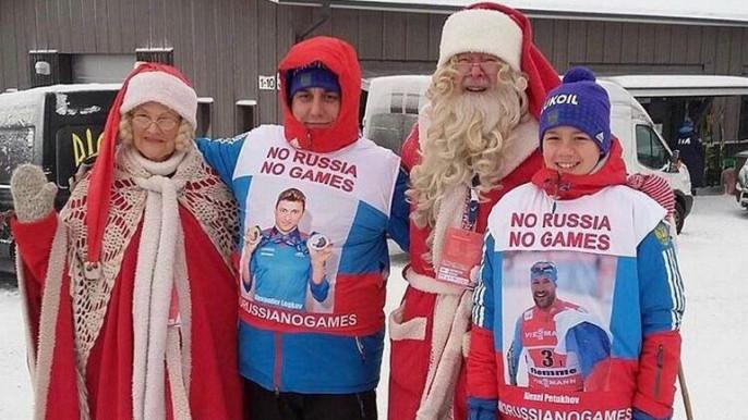 Школьник изПетербурга запустил флэшмоб вподдержку сборной Российской Федерации наОлимпиаде