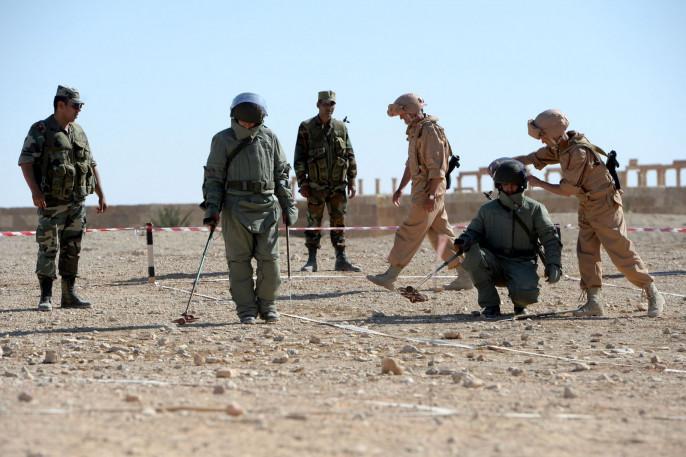 В государственной думе опровергли планы привлечь частные компании кразминированию вСирии