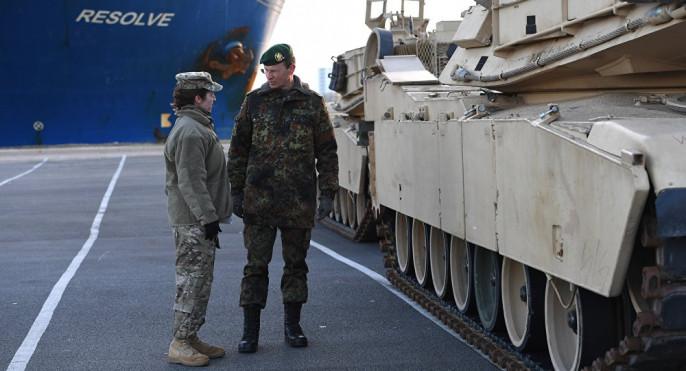 ВПольшу прибыла военная техника армии США