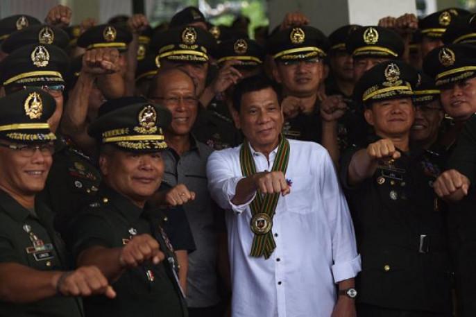 Страна небудет закупать оружие уСША— Президент Филиппин