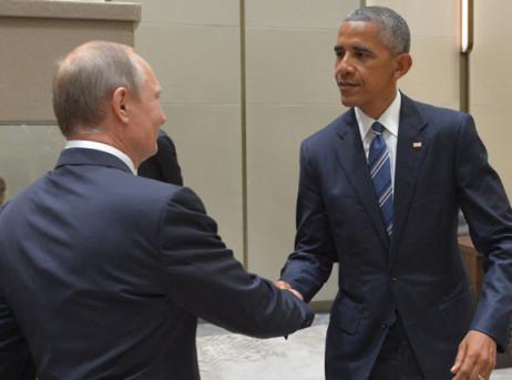 Путин иОбама пару раз пообщались насаммите G20