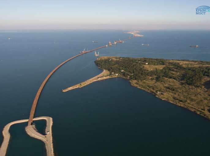 Соколов оповестил Путину оходе возведения Керченского моста