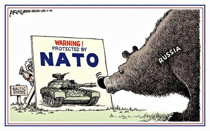 РФ неоставит без ответа размещение баз НАТО вПрибалтике